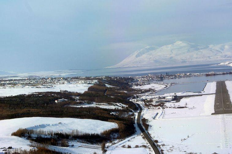 Akureyri Airport.