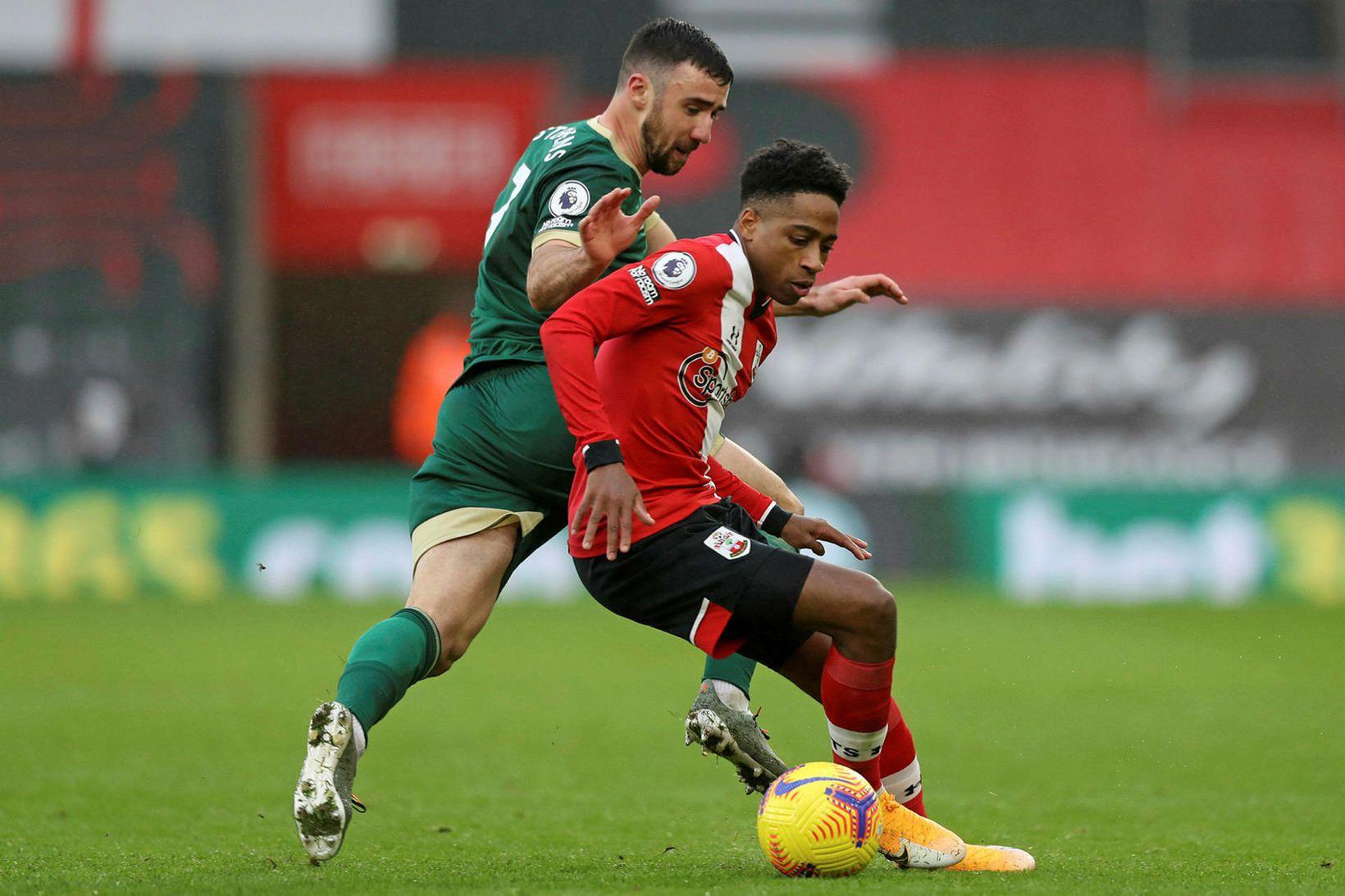 Southampton vann öruggan sigur á Sheffield United.