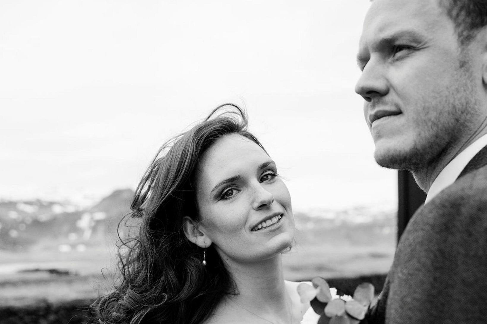 Heiðrún Hafliðadóttir flugfreyja og Magnús Norðdahl tölvunarfræðingur fengu Hótel Búðir …