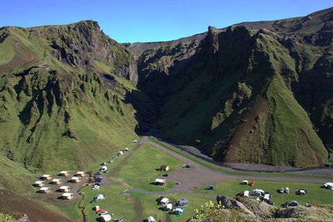 Þakgil Camping Ground