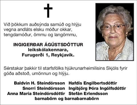 Ingigerðar Ágústsdóttur
