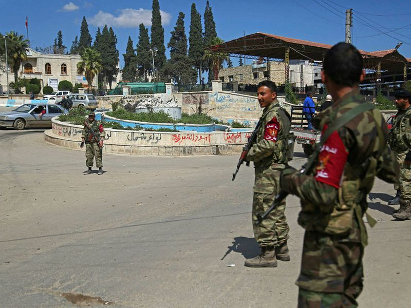 The Turks and their allies now control the district of Afrin in North-West Syria.