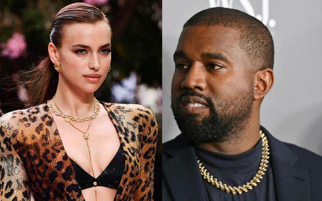 Irina Shayk og Kanye West.