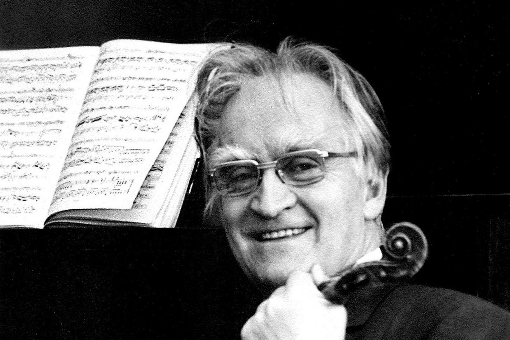 Björn Ólafsson fyrsti konsertmeistari Sinfóníuhljómsveitarinnar var vel þekktur á sínum …