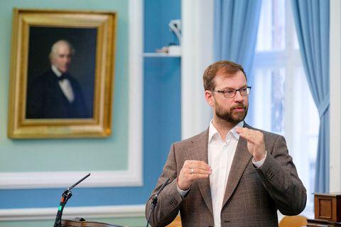 Björn Leví Gunnarsson, þingmaður Pírata.
