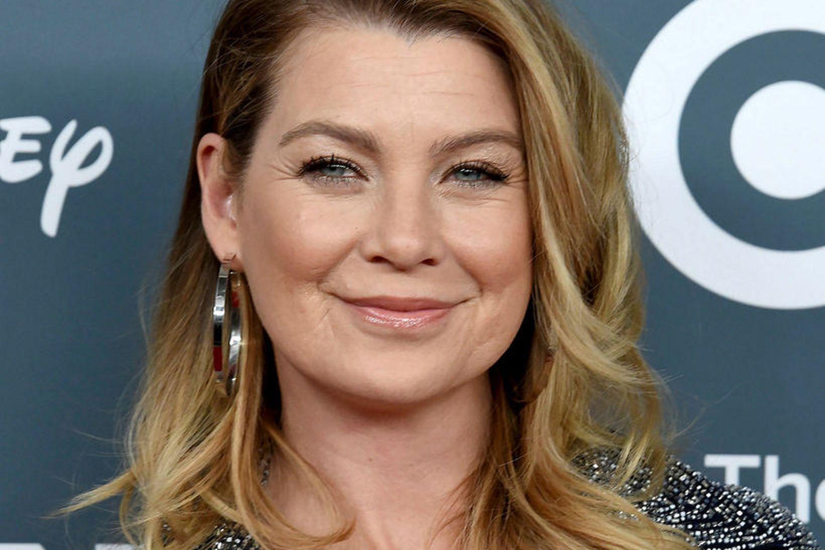Ellen Pompeo fer með hlutverk Meredith Grey.