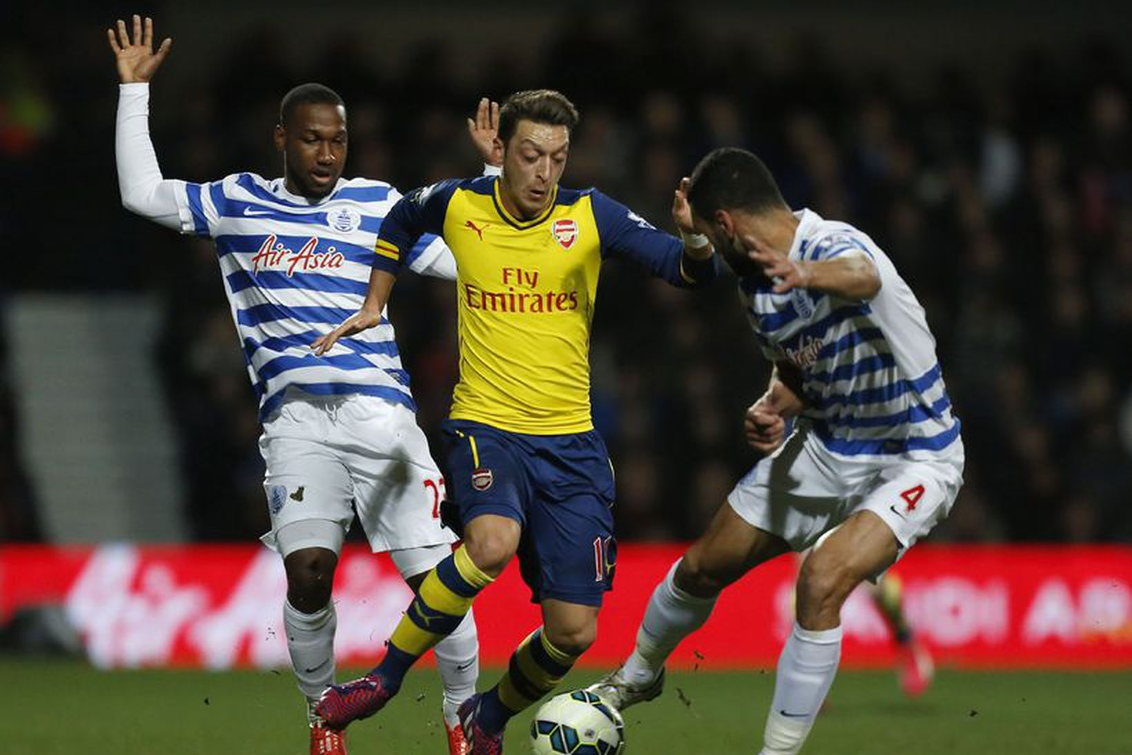 Mesut Özil kom til Arsenal árið 2013.