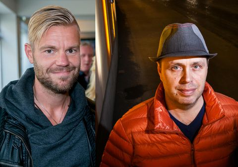 Sölvi Tryggvason (t.v.) og Björn Steinbekk (t.h.)
