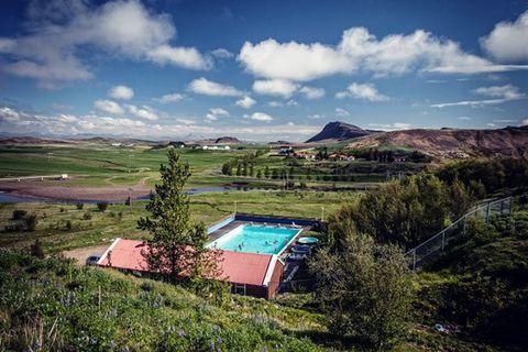 Hreppslaug Swimming pool