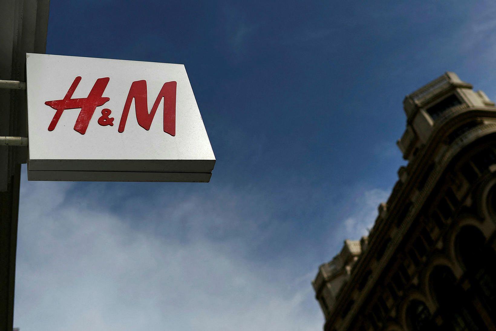 H&M í Madrid.
