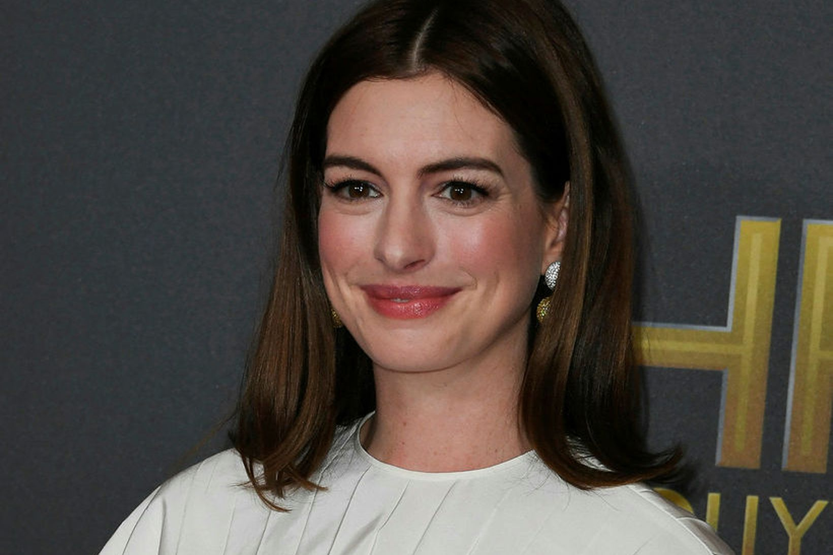Leikkonan Anne Hathaway einum mánuði eftir að hún tók ákvörðunina …