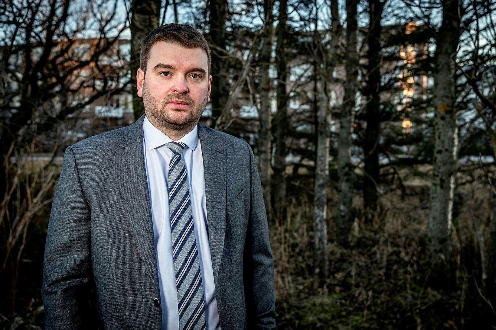 Ásmundur Einar Daðason býður sig fram í Reykjavíkurkjördæmi norður.
