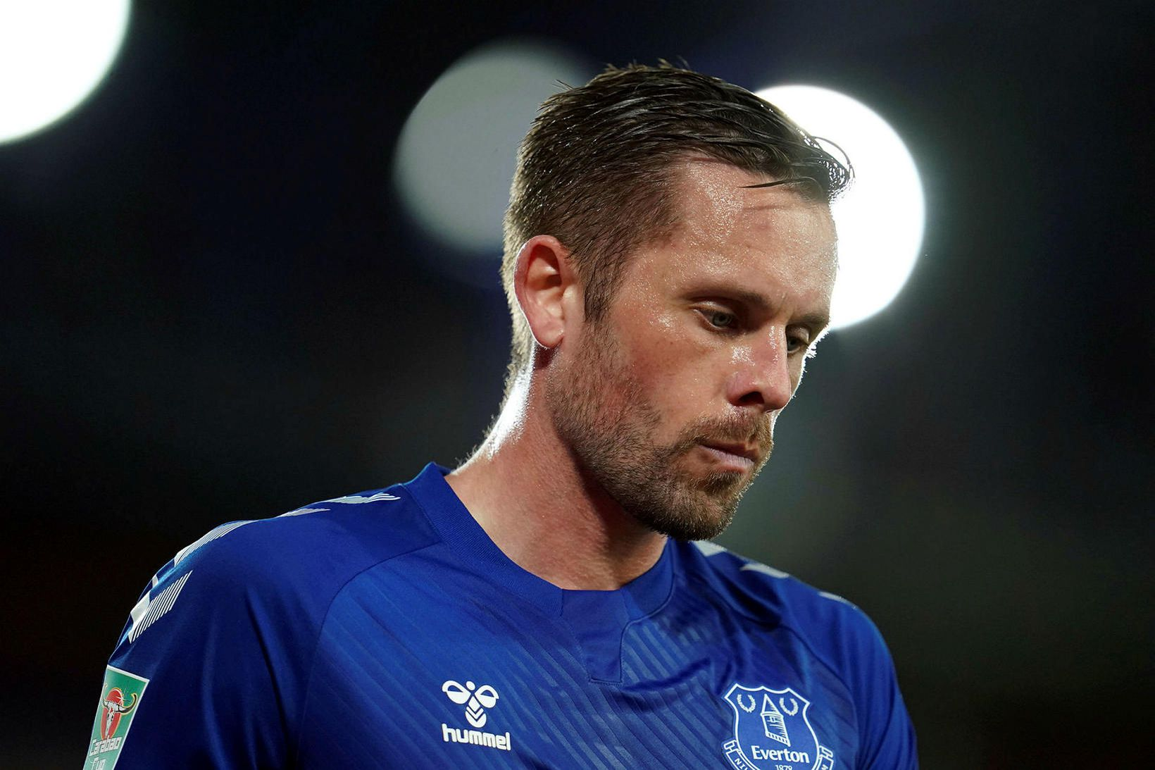 Gylfi Þór Sigurðsson, leikmaður Everton og íslenska landsliðsins.