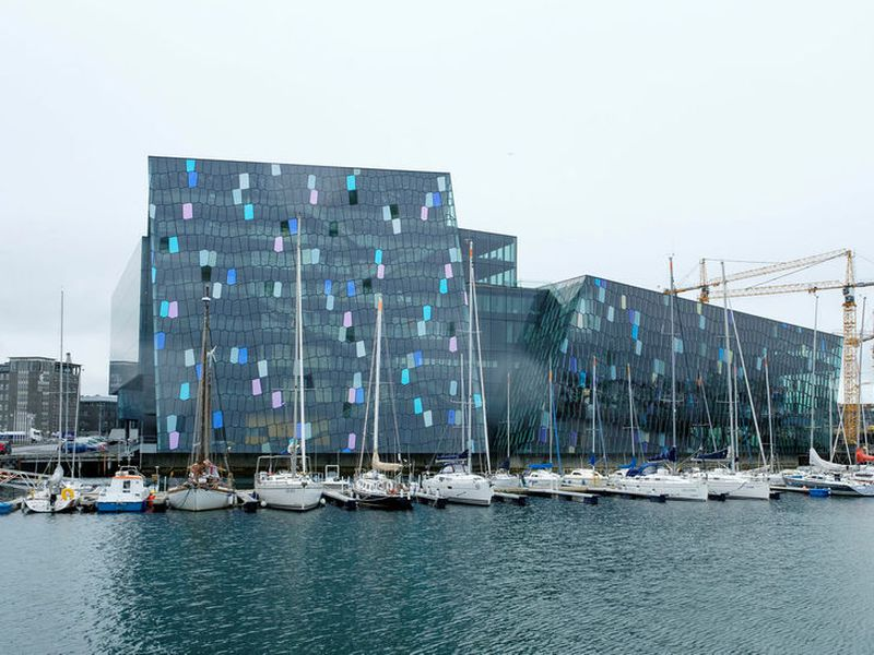 Harpa Concert Hall and Conference Centre opened in 2011 and is designed by Henning Larsen and Batteríið architects in collaboration with artist Olafur Elíasson.