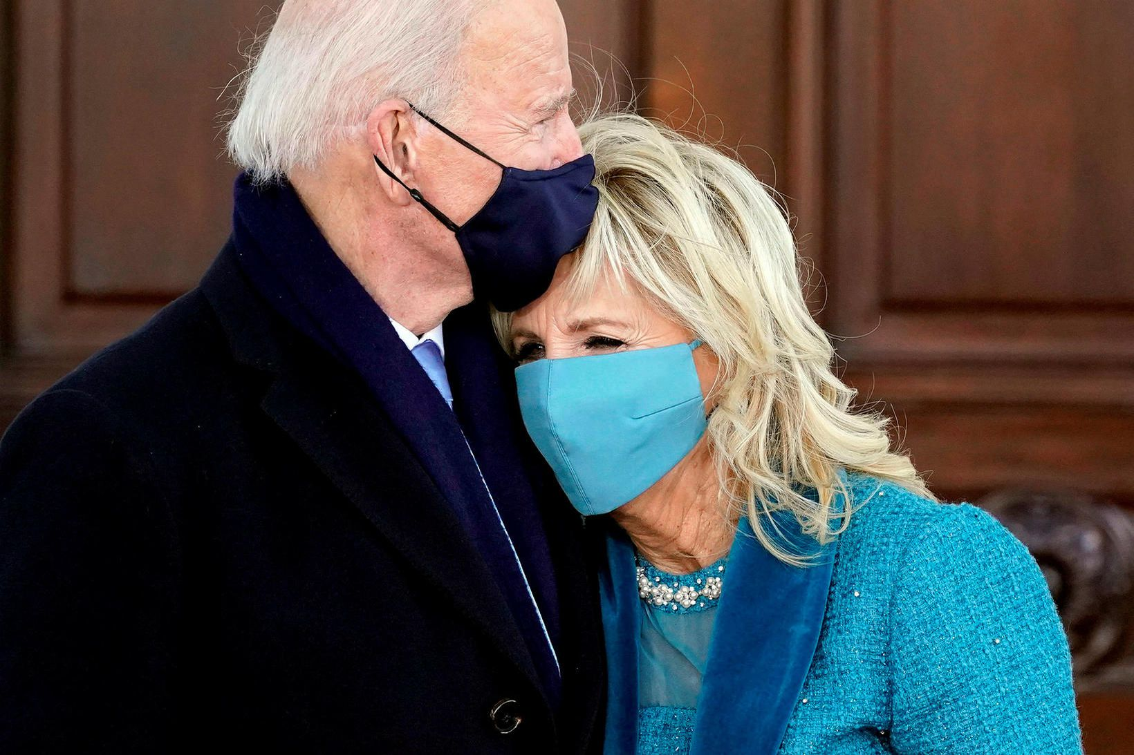 Forsetahjón Bandaríkjanna Joe og Jill Biden.