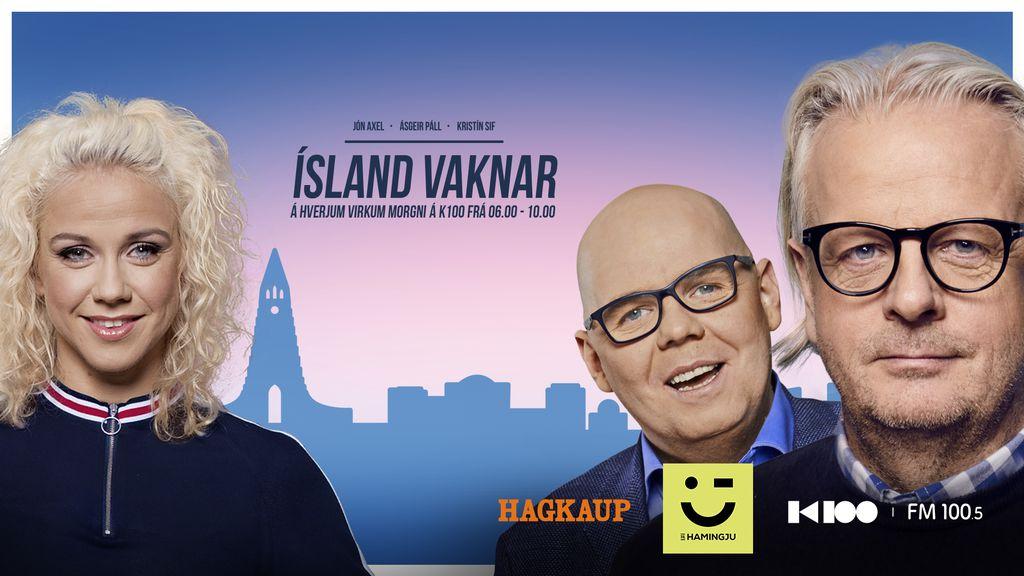 Ísland vaknar - Þorgerður Katrín og Þórdís mætast