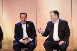 David Cameron og Sigmundur Davíð Gunnlaugsson á Northern Future Forum.