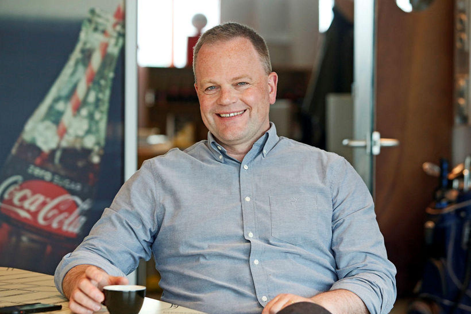 Einar Snorri Magnússon forstjóri Coca Cola á Íslandi.