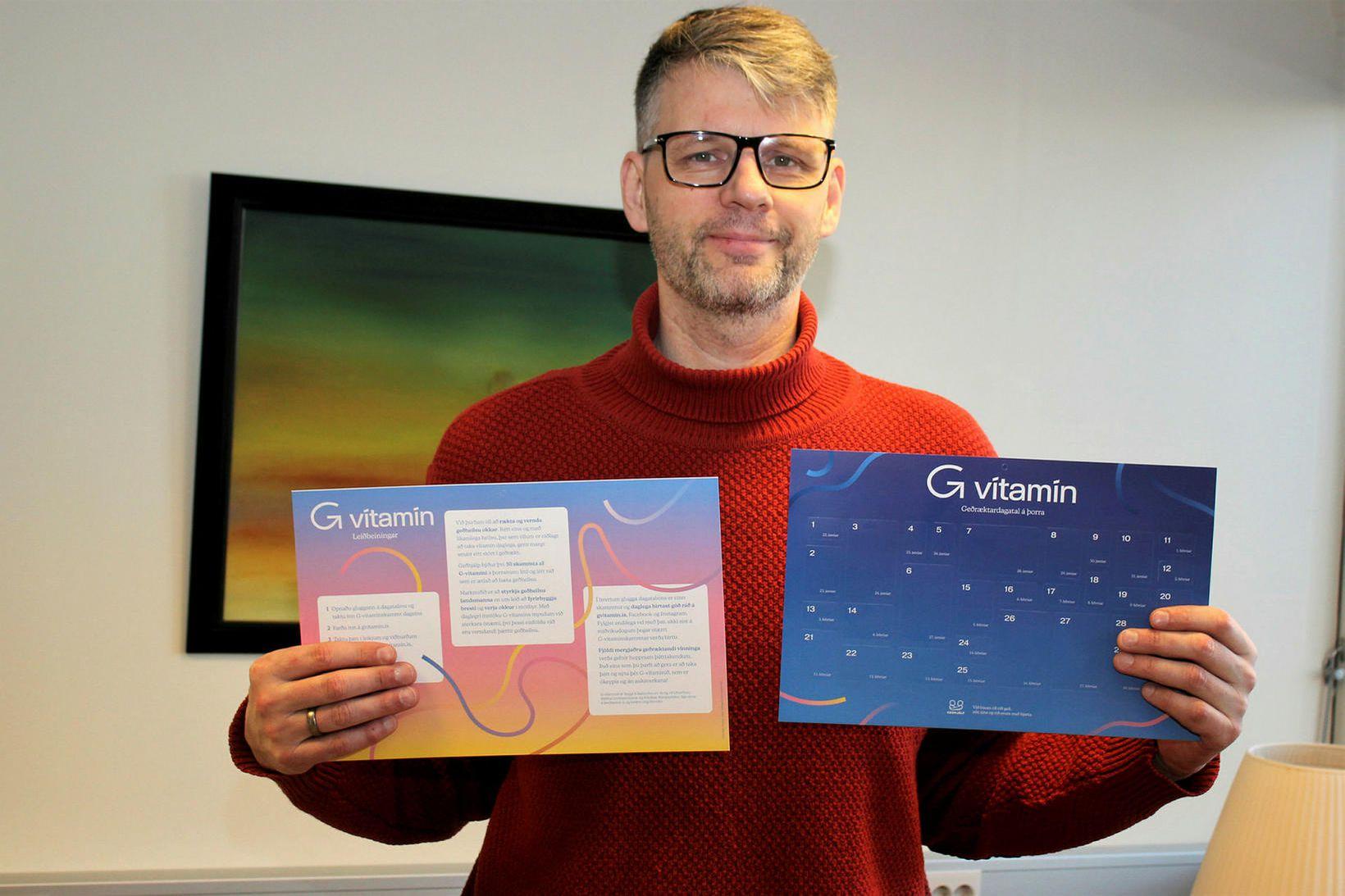 Grímur Atlason framkvæmdastjóri Geðhjápar.