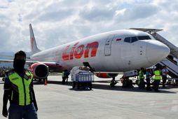 Boeing 737 MAX 8-farþegaþota í eigu flugfélagsins Lion Air.
