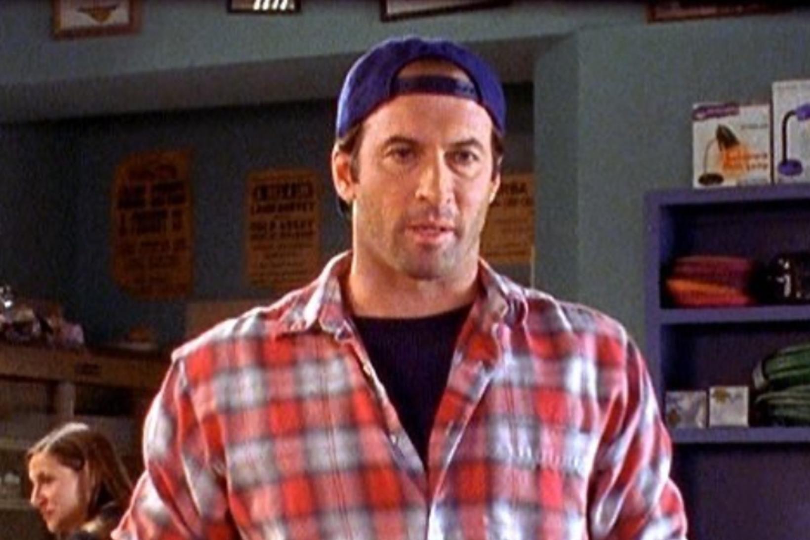 Scott Patterson fór með hlutverk Lukes Danes í þáttunum Gilmore …