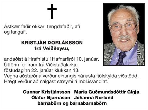 Kristján Þorláksson
