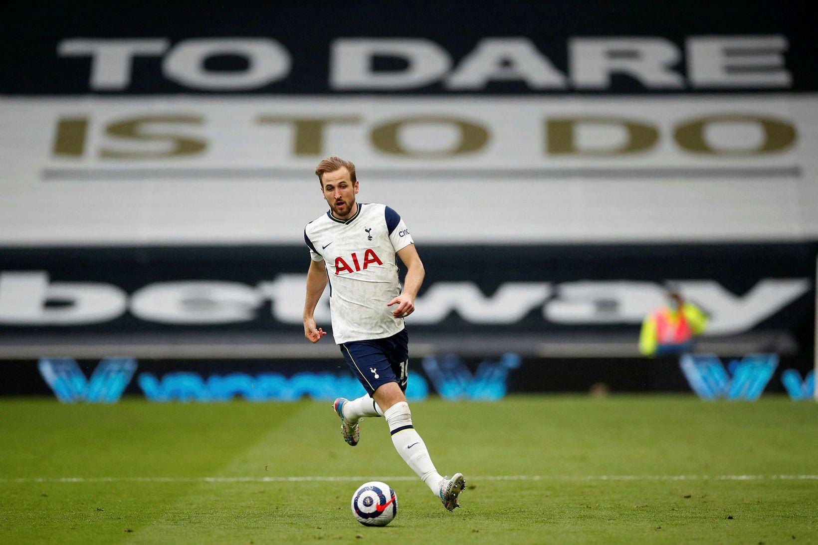Harry Kane vill yfirgefa herbúðir Tottenham Hotspur.