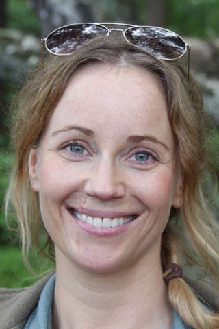 Sænska leikkonan Sofia Helin.