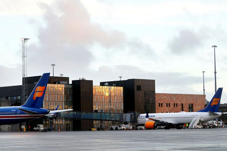 From Keflavík International Airport.