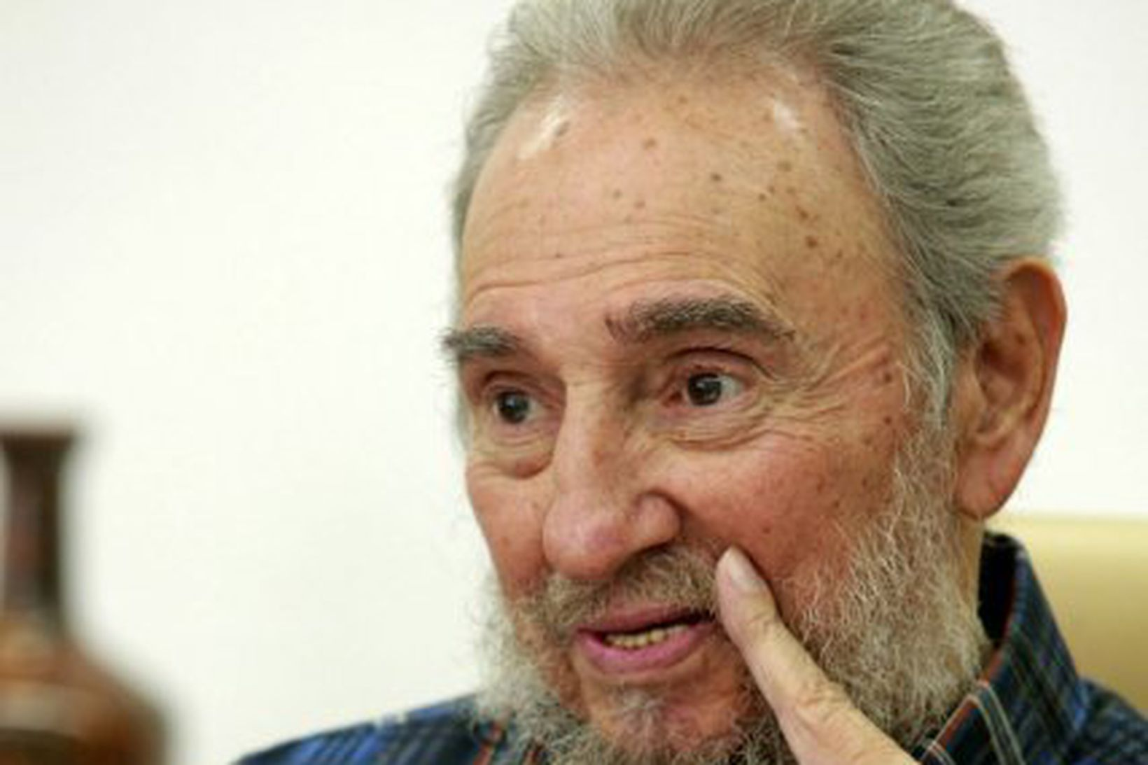 Fidel Castro, fyrrverandi forseti Kúbu.