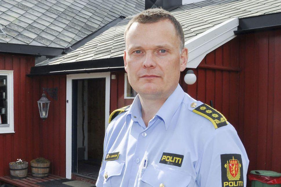 Øyvind Lorentzen, umdæmisstjóri lögreglunnar í Finnmörku. Ekki reyndist unnt að ...