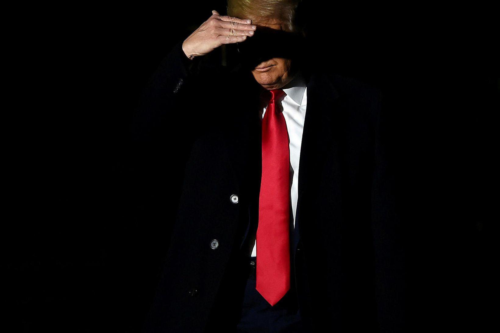 Donald Trump Bandaríkjaforseti er tæpast sáttur með ákvörðun dómarans.