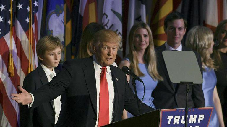 Donald Trump kjörinn forseti