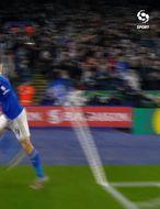 Leicester sannfærandi gegn Arsenal (myndskeið)