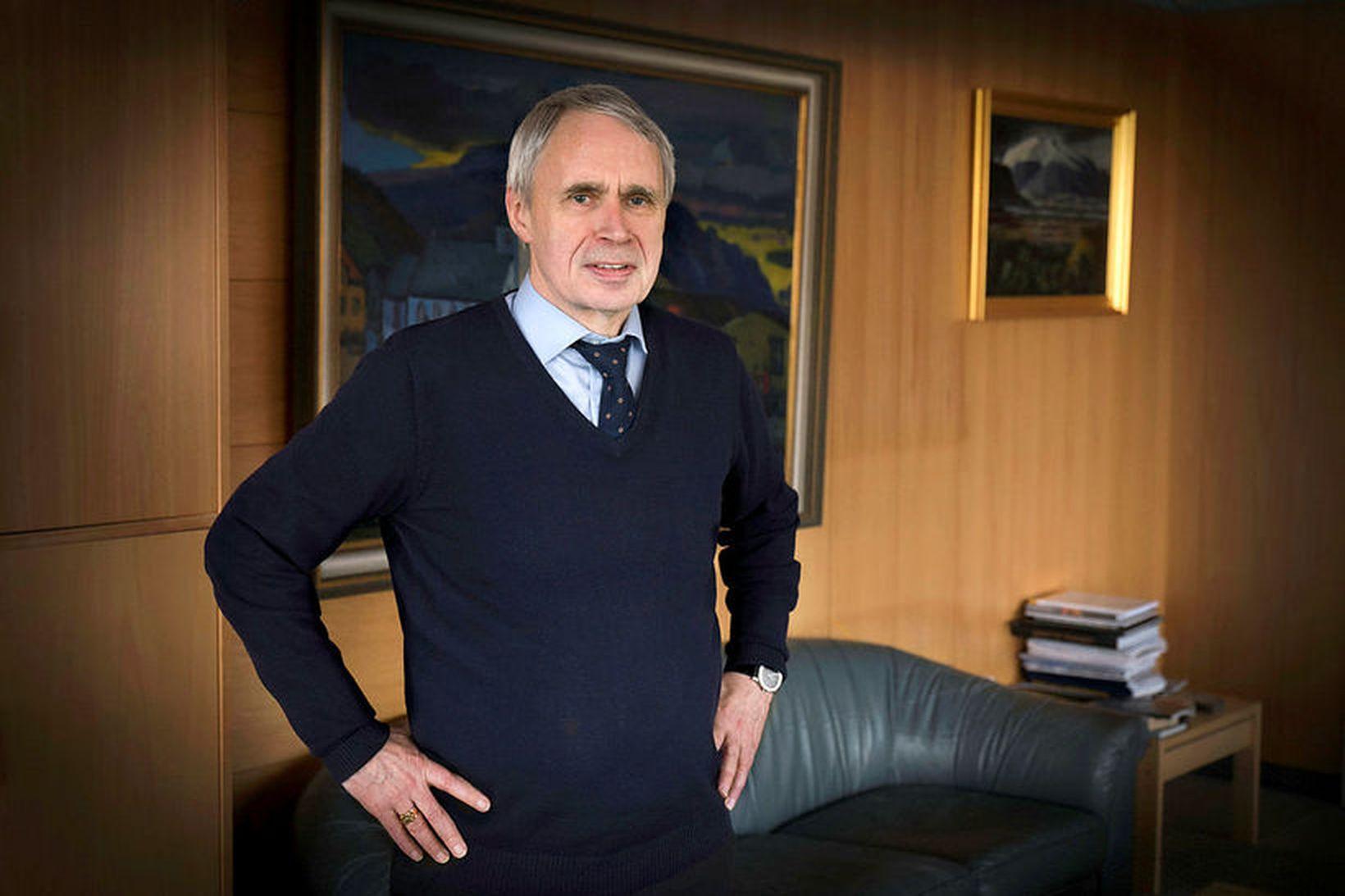 Þórólfur Gíslason hefur verið kaupfélagsstjóri í 31 ár.