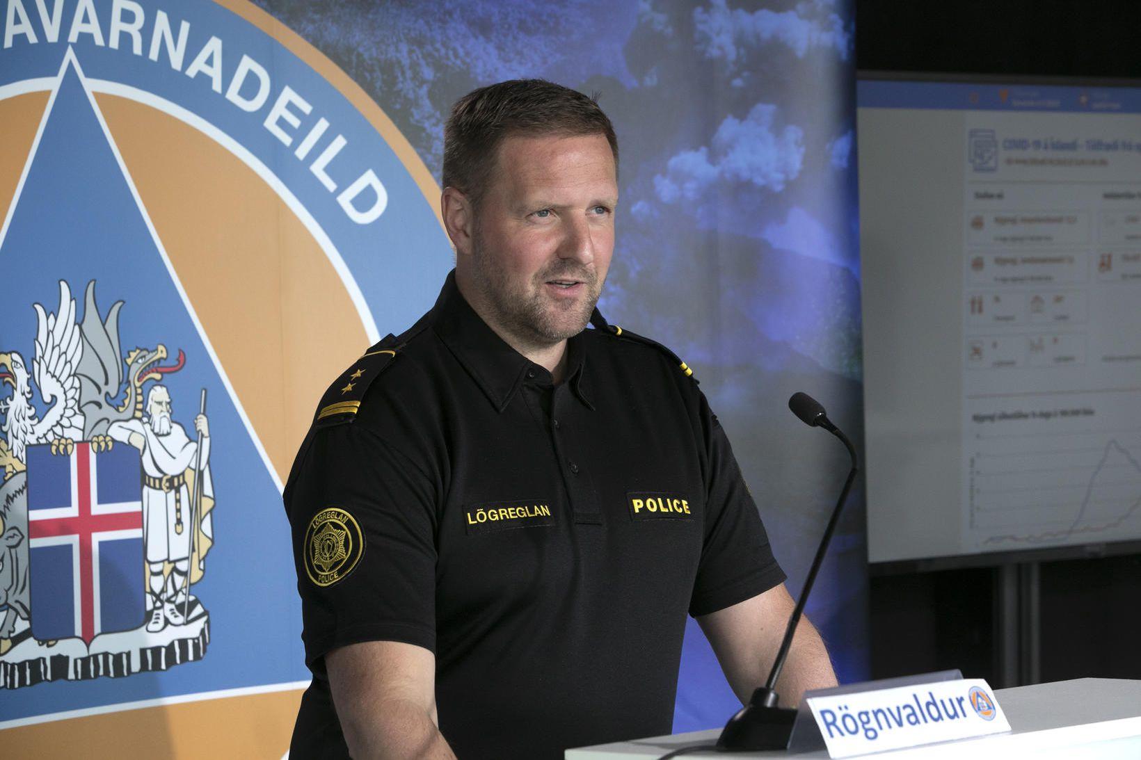 Rögnvaldur Ólafsson, aðstoðaryfirlögregluþjónn almannavarnadeildar.