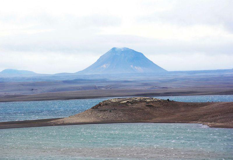 Nýidalurvalley in Sprengisandur, a large highland desert in central Iceland.