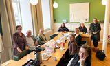 Þingflokkur Vinstri grænna hittust í fyrsta skipti í dag á kjörtímabilinu.