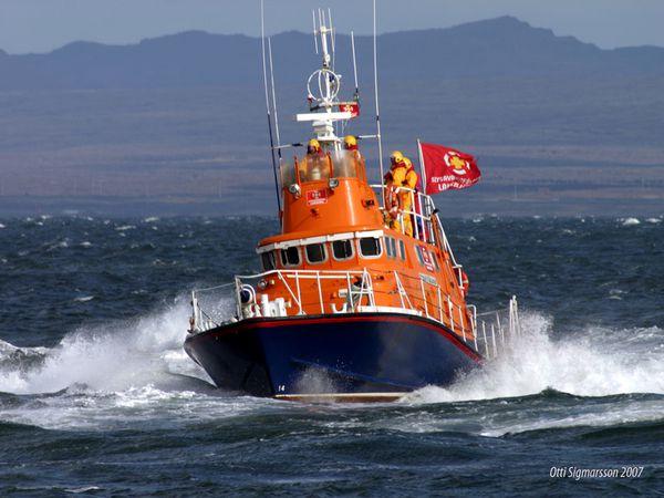 ICE-SAR's rescue vessel Oddur V. Gíslason.