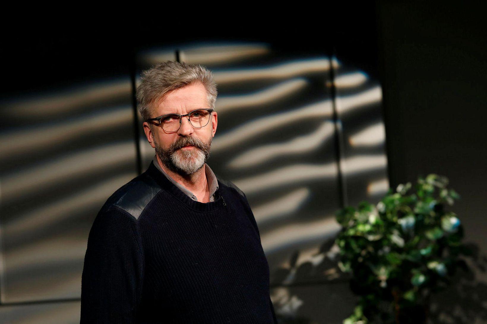 Gunnar Smári Egilsson, oddviti Sósíalistaflokks Íslands.
