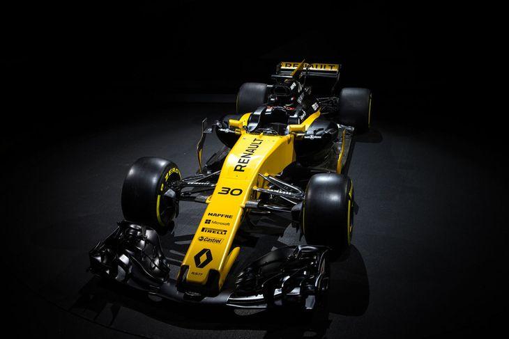 2017-bíll Renault í formúlu-1