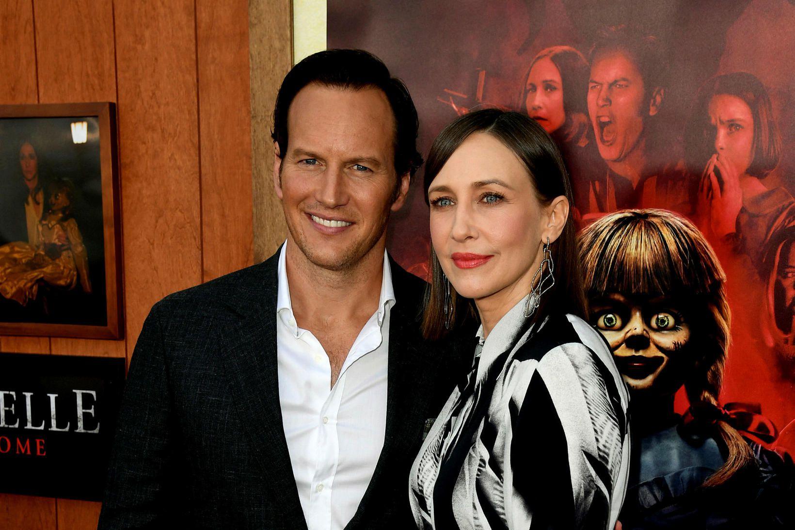 Patrick Wilson og Vera Farmiga, aðalleikarar The Conjuring.