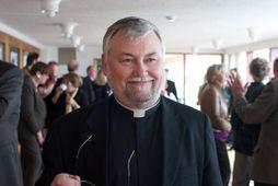 Séra Kristján Valur Ingólfsson vígslubiskup.