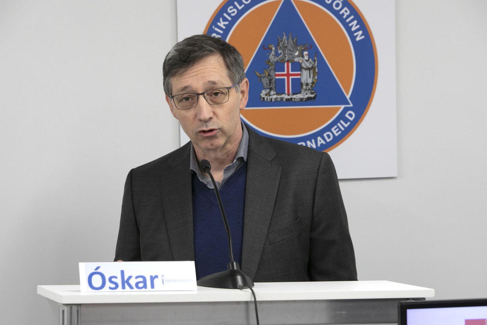 Óskar Reykdalsson er forstjóri Heilsugæslunnar á höfuðborgarsvæðinu.