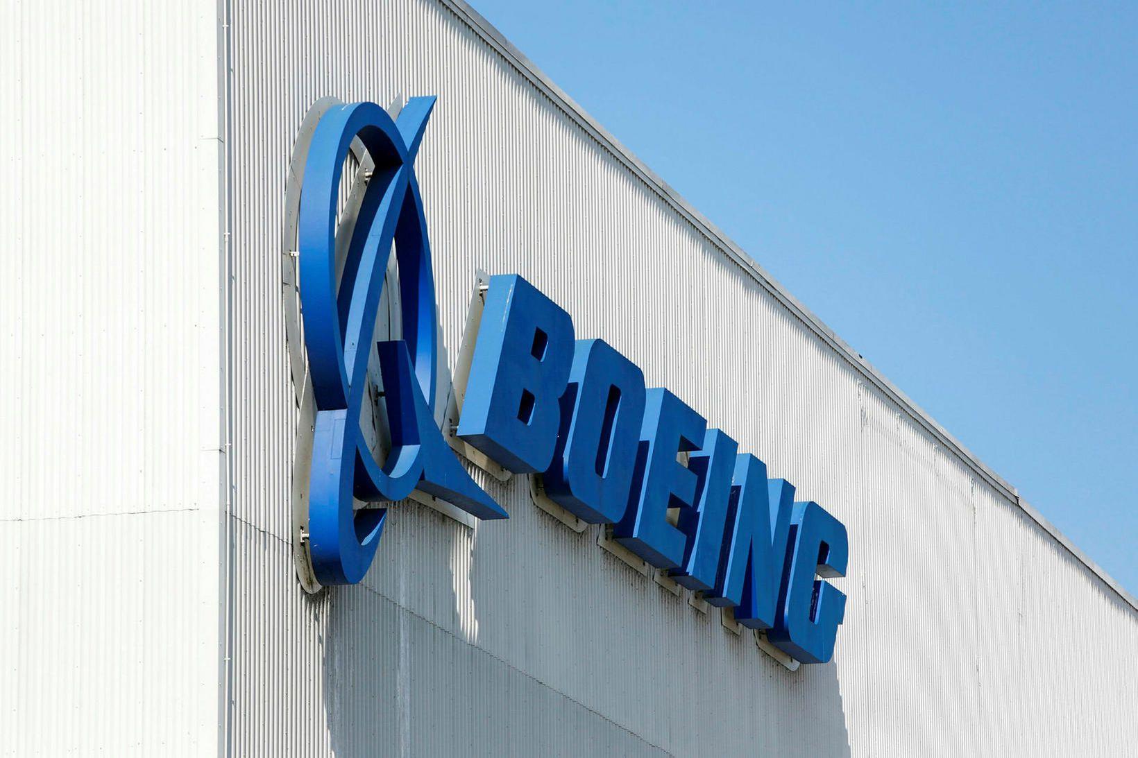 Framleiðslan er hafin á nýjan leik hjá Boeing.