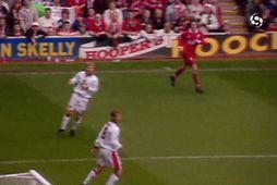 United fór langt með að tryggja titilinn á Anfield (myndskeið)