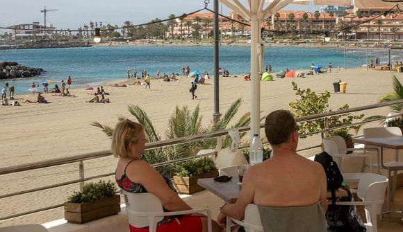 Fólk fer ákaflega varlega á Tenerife