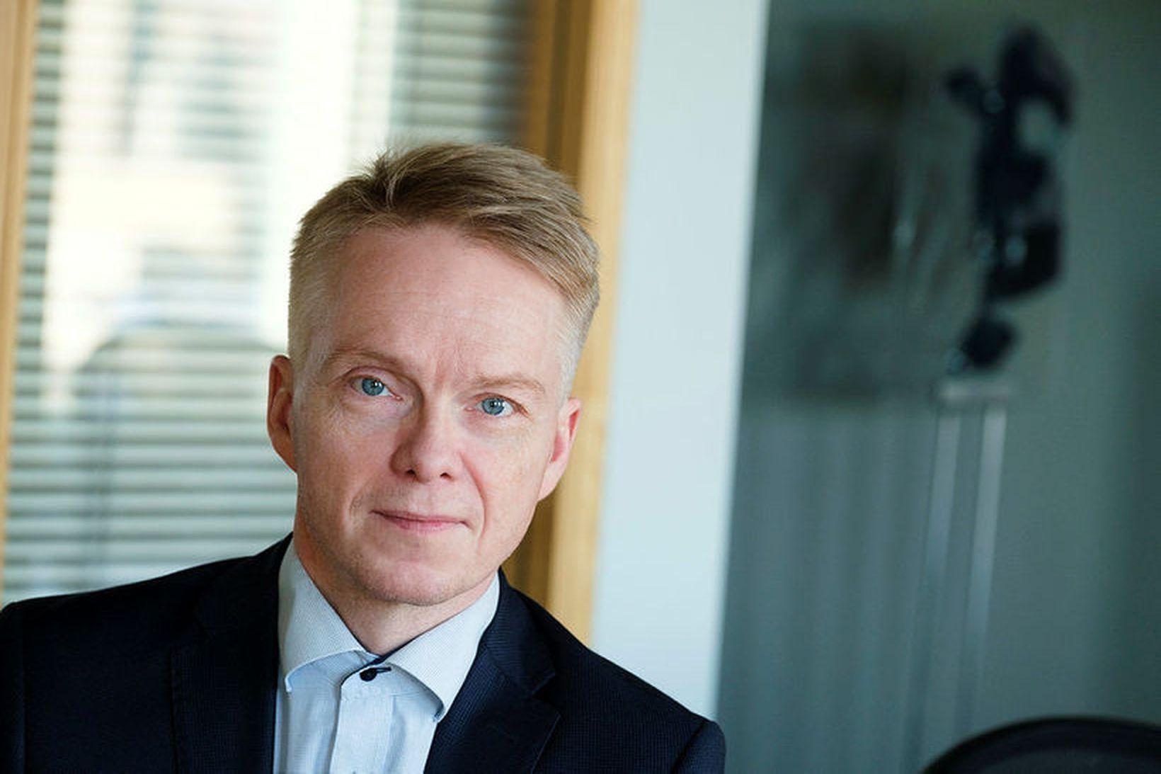 Hjörtur Heiðar Jónsson, formaður Heyrnarhjálpar.
