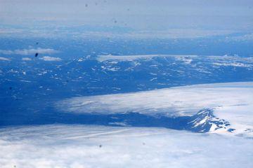 Bárðarbunga á Vatnajökli.