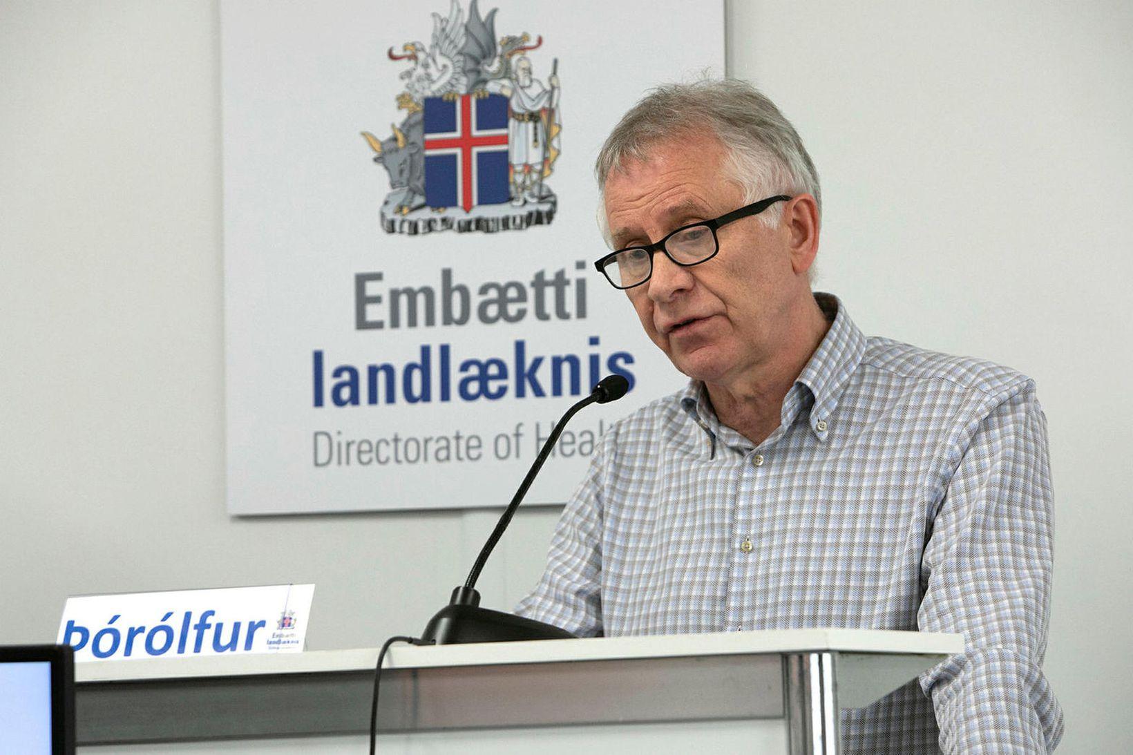 Þórólfur Guðnason er sóttvarnalæknir.
